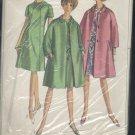 Misses simplicity pattern 6933 ensemble one-piece dress coat size 18 Bust 38 No. 110
