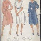 Uncut Butterick pattern shirtwaist size 8 Misses dress vintage pattern 5879 No. 110