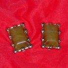 Coro Vintage thermoset earrings  No. 108