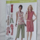 Simplicity Pattern 4190 uncut dress tunic pattern No. 110