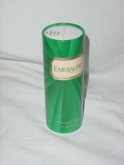 Emeraude unopened perfumed talc Powder 3.7 oz No. 110