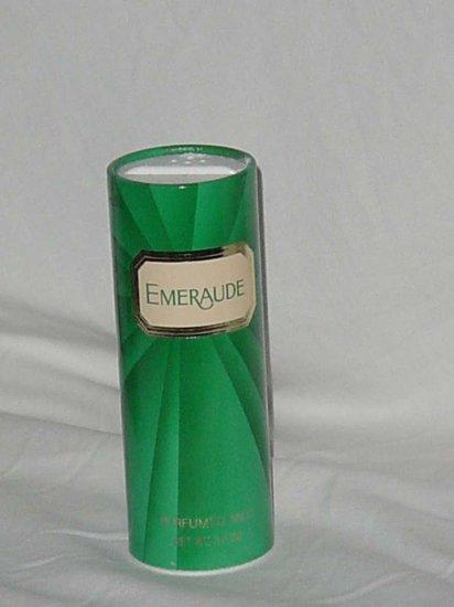 Emeraude opened perfumed talc Powder fragrance No. 110