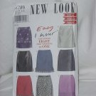 New Look Simplicity Pattern Six Skirts uncut 6789 size A; 6-16 no. 110