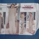 Uncut Vogue pattern Tamotsu 1437 jacket vest skirt pants sewing pattern size 14 16-18  No. 111