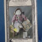 Doll pattern My Friend Phyllis A quilter's companion doll Suzy Lawson  No. 111