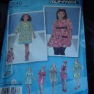 Uncut Simplicity pattern 3546 Girls Dress mini dress L XL  No. 111