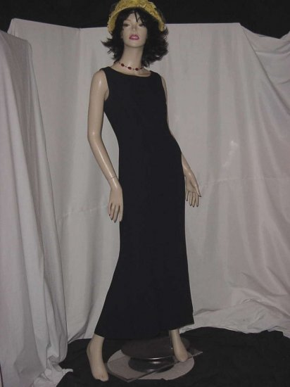 Navy Blue dress Floor length bridesmaid party prom dress Watters and Watters Mother of Bride No. 119