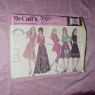 Uncut vtg McCall's skirt pattern 3029 Misses skirts appliques varied lengths  No. 120