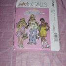 Uncut Girls top dress pants McCall's  5311 Size CH (7-8-10)  No. 120