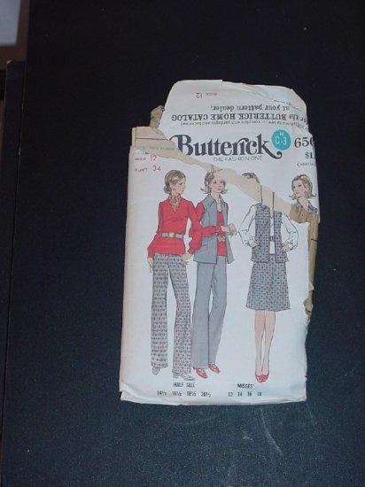 Vintage  Pattern Butterick 6503