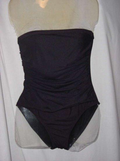 Swimsuit black strapless swimsuit medium 8/10   No. 121