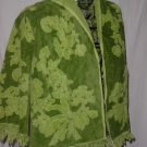 Green towel beach cover beach jacket coverup  No. 122