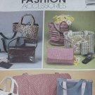 McCalls 3136 Fashion Accessories sewing pattern purses bags totes  124