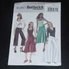 Butterick Fast and Easy B4807 Misses misses petite pants sash  (14-16-18-20) No. 124