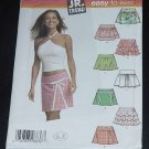 Mini skirts Simplicity Sewing Pattern 4705 Size BB  11/12-15/16 No. 124