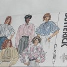 Butterick Classic Blouses loose fitting tops 3537 size 10 No. 60