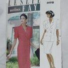 Leslie Fay Butterick 4700 pattern dress top skirt size 8-12 uncut Bust 31 1/2 - 34 No. 129