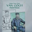 Van Gogh Color Your Own Picture Cards Rendered by Marty Noble  1999 No. 130