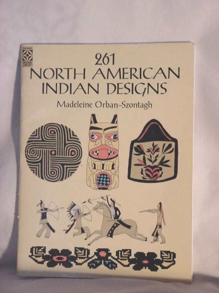 Native American Indian Designs Madeleine Orban-Szontagh  No. 130