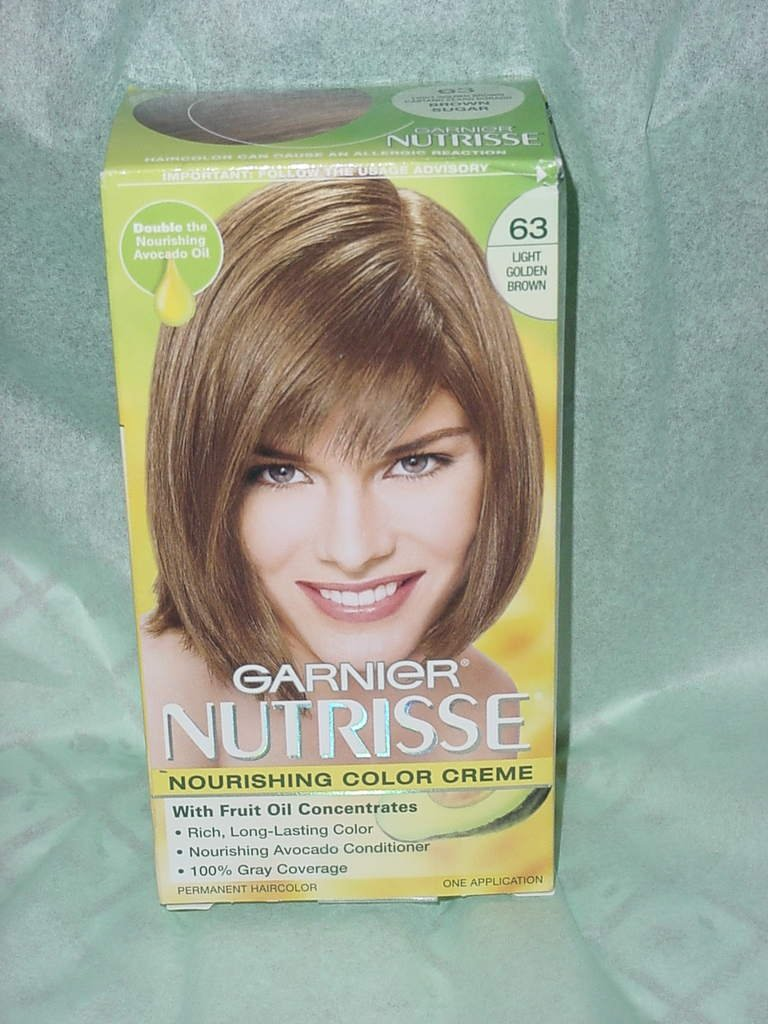 Garnier Nutrisse Color Creme Permanent Hair Color 63 Light Golden