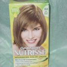 Garnier Nutrisse color creme Permanent Hair color 63 light golden brown  No. 130
