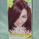 Garnier Nutrisse color creme Permanent Hair color 452 Dark reddish brown  No. 130