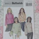 Butterick 4922 Misses/misses petite top long sleeve sleeveless size 14-20  Uncut No. 133