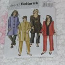 Butterick 4942 Womens jacket pants length vary Size RR Large No. 133
