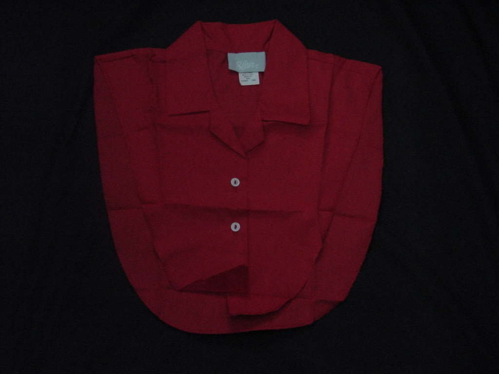 Blair Dickey Red One size shirt front  No. 138