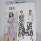 Dresses Jacket uncut Butterick pattern 3758 Misses Size 8-12 No. 142