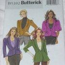 Jackets uncut Butterick pattern 5392 EE 14-20 Uncut Misses Jacket No. 142