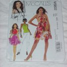 McCalls Pattern 5802 Hilary Duff Size AX5 4-12 Top Dresses Sash  No. 142
