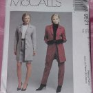 McCalls Pattern 9521 Lined Jacket Skirt Pants 12-16 No. 142