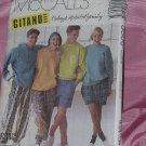 McCalls Pattern 5606 Size Medium Tops Pants Shorts No. 142