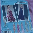 Misses' Simplicity 3501 Flirty Sassy Evening dress Two Lengths Size 4-12 Uncut No. 142