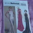 Evening Length formal dress Butterick Pattern B5182 Size 6-12 No. 142