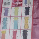 Misses 9 sew Fast Easy Pullover Dress Butterick 5418 Size 14-18 No. 142