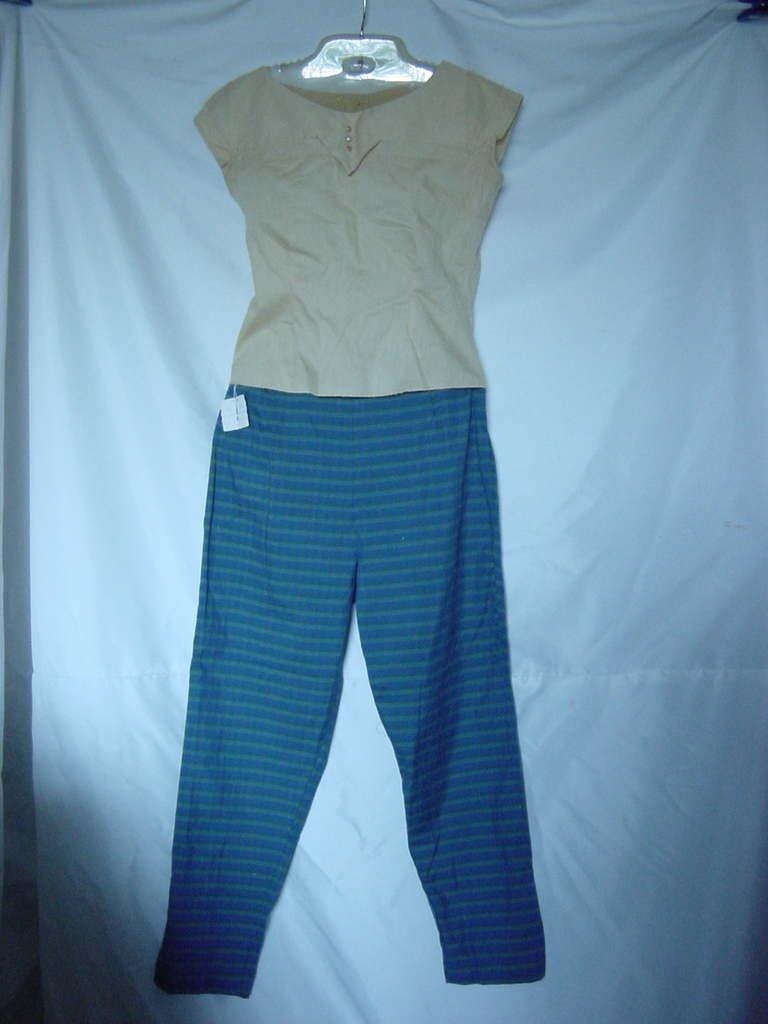 Sun n Surf Sportswear Capri Vintage slacks unworn capris Pedal Pushers Blouse No. 143