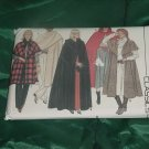 Butterick Classics Coat Cape 6796 One Size Cape Uncut No. 86