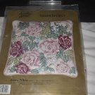 Roses Needlepoint Pillow Kit Something Special Kit Unopened  No. 150
