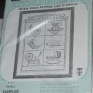 Bucilla Needlework Kit Sampler Kit Antiques Sampler  Unopened  No. 150