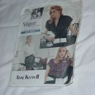 Vogue pattern Anne Klein II pattern Vogue Career Easy Pattern 2069 Size 12-16 Uncut  No.150
