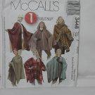 1 Hour Poncho McCall's 3448 Size Z Xlg-XXL No. 161