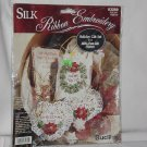 Silk Ribbon Embroidery Holiday Gift Set Bucilla Kit  No. 161