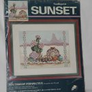 Sunset Needlepoint Southwest Perspective by Amy Piccard  No. 161