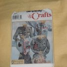 Simplicity 9073 Crafts Homegrown by Linda Kitzmiller Tie Button Cover Appliques No. 161