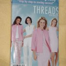 Simplicity Threads Collection 4601 Size 16, 18, 20, 22, 24 Dress or Top Tunic Jacket Pants No. 161