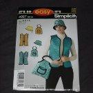 It's so Simplicity 4027 Size !  6-16 Hat Vest Bag  No. 165