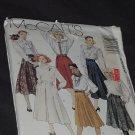 McCall's skirts  3923 Gore skirt mid-knee skirts  No. 164