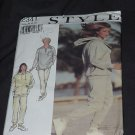 Style Pattern 2341 Casual Top Pants For Knits Only Size A 8-18 Uncut  No. 163